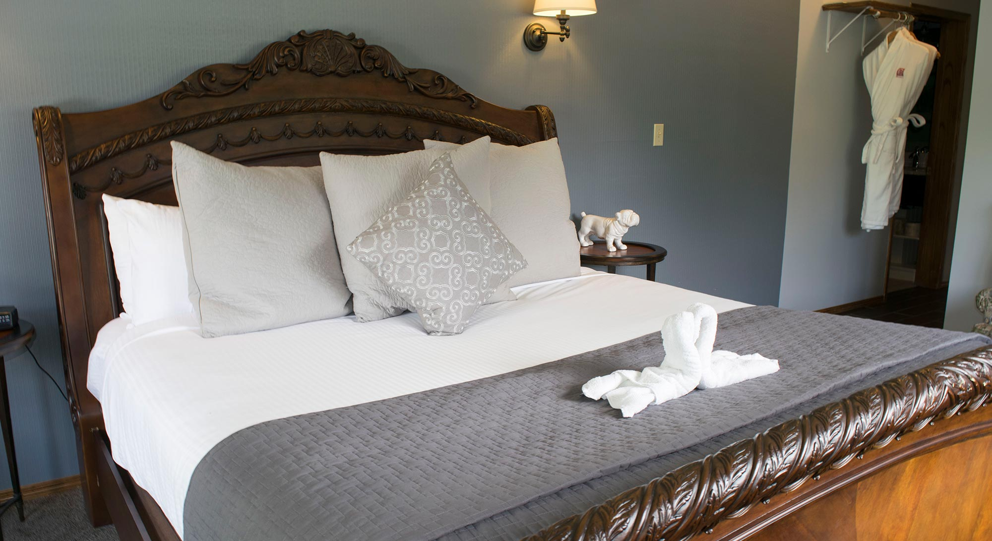 Newly renovated Elizabeth room at the Gerogetown Inn.
